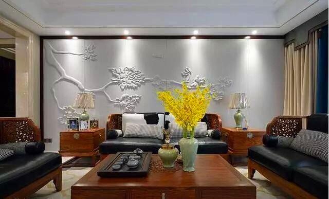 装修新中式风家居设计, 雅致宁静的东方美
